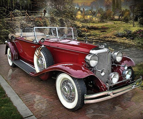 1931 Chrysler Imperial (it's rare and impressive when a Chrysler anything catches my eye!)