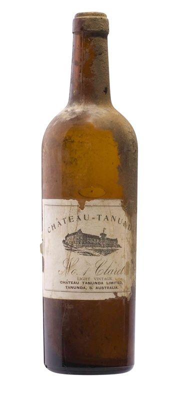 Chateau Tanunda No1 Claret bottle