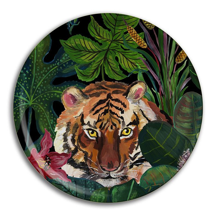 Discover the Avenida Home Nathalie Lete - Jungle Tray - Tiger at Amara