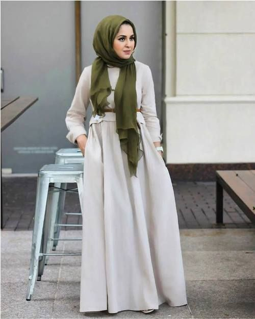 5ef35f31bcce maxi dress-Hijab style summer 2018 – Just Trendy Girls