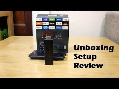 FireTV Stick: Unboxing, Setup & Review