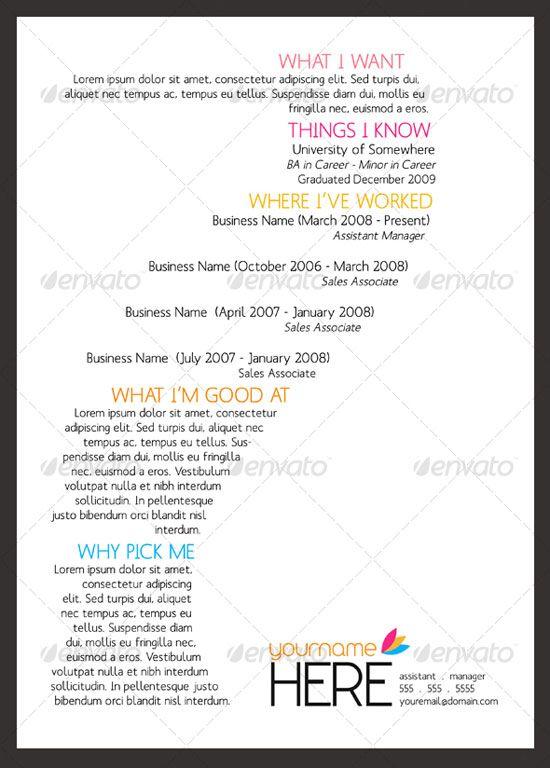 65 best Résumé \ Cover Letter Ideas images on Pinterest Resume - cover letters for resume examples
