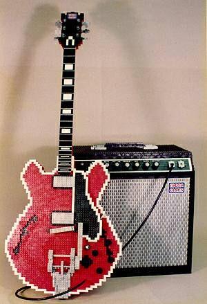 Más de 25 ideas increíbles sobre Lego guitar en Pinterest ...