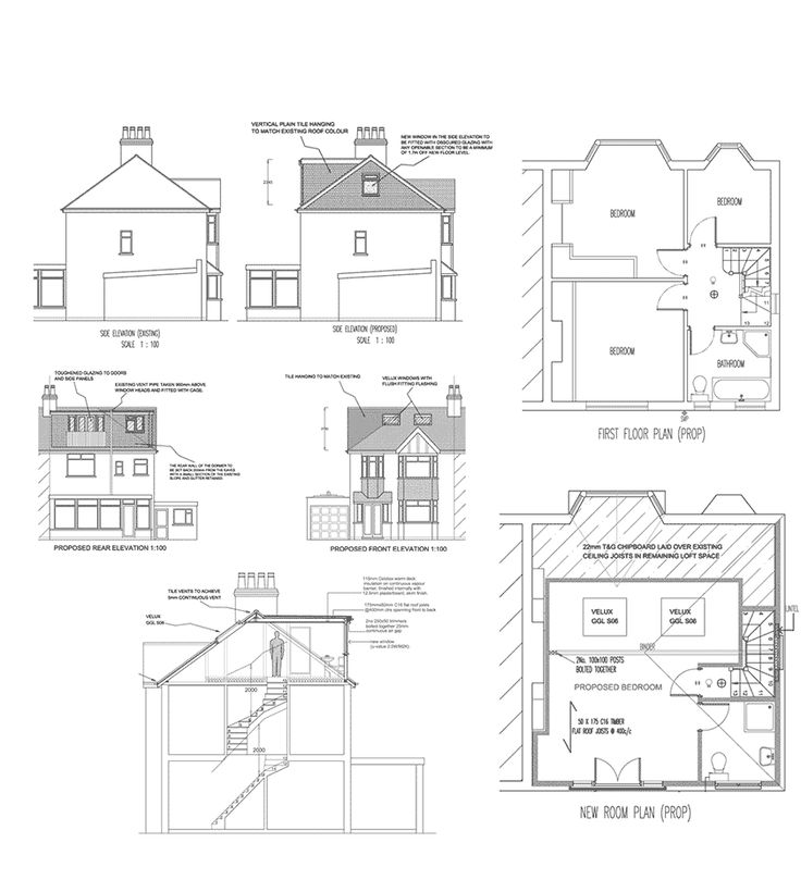 1000 Ideas About Loft Conversion Plans On Pinterest