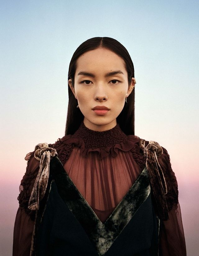 Fei Fei Sun For Vogue China January 2017 - Transparencies