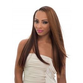 Janet Collection Fit-Clip 100% Brazilian Remy Human Hair Weave MAGIC YAKY CLIP 8PCS 10″-16″ [D]