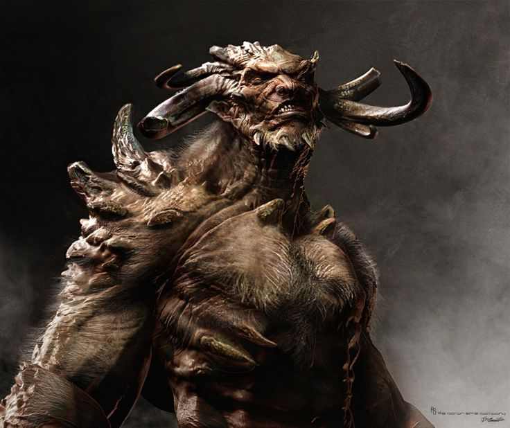 Wrath of the Titans concept art is mythic nightmare fuel