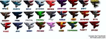 FaZe Clan members. Well at least the only ones I know.