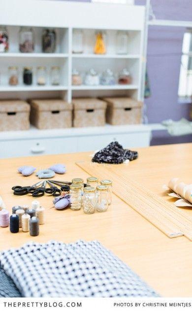 Fabric, scissors, thread | Photography: Christine Meintjes, Craft & sewing centre: Create Hobby