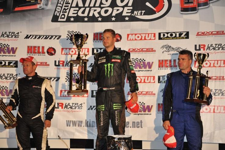 Adam Kerenyi (Kerényi Drift Team) is the King of Europe 2012. CONGRATULATIONS!