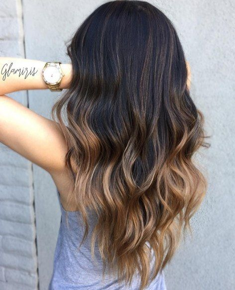 Ombre Hair - The Best Ombre Hairstyles, i  the dark brown & toffee and dark brown and ash blond