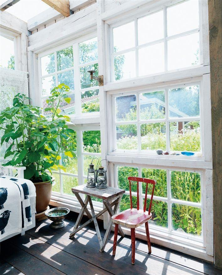 altanvägg gamla fönster - Sök på Google