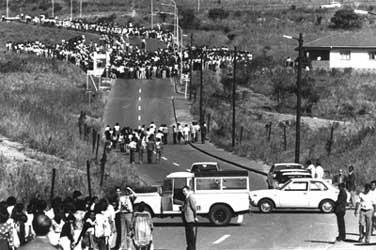 Soweto Uprisings of '76    http://www.sahistory.org.za/sites/default/files/imagecache/gallery_preview/images/BAHA-june-16-1976-03.jpg