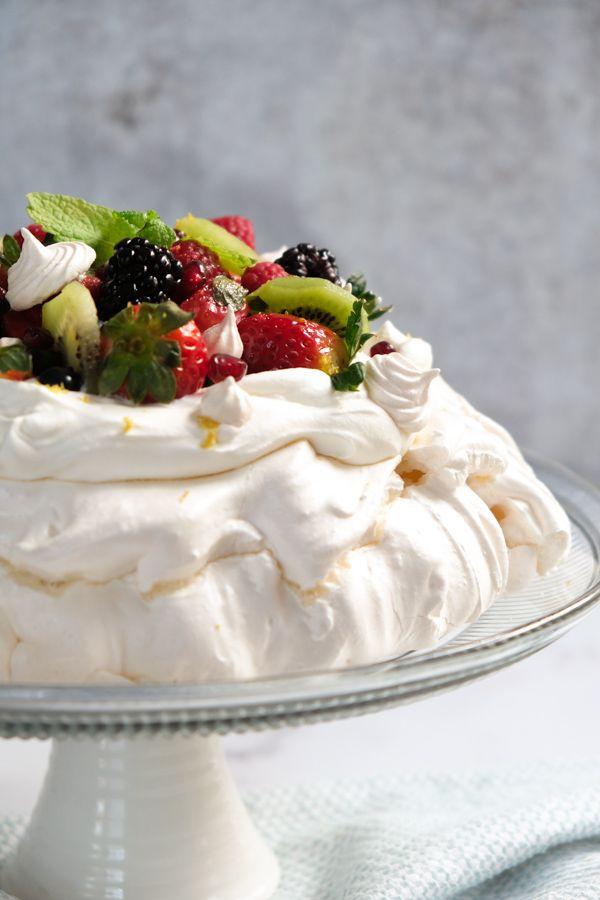 Easy Australian Pavlova Dessert Recipe Recipe In 2021 Pavlova Dessert Dessert Recipes Australian Desserts