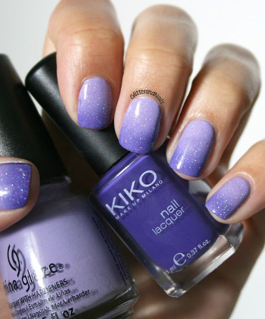 Gradient Amethyst. CG Tart-y for the Party, Kiko No. I-don't-know-more than I top my Coate with CG Fairy Dust