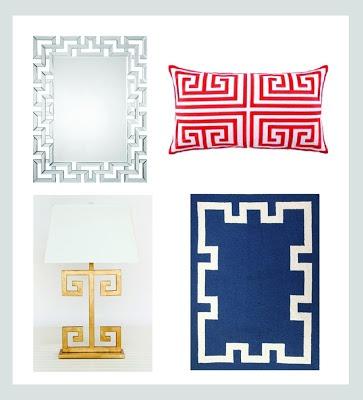 Pink-Limonada: { Greek Key pattern ou Chave Grega: Você conhece? }