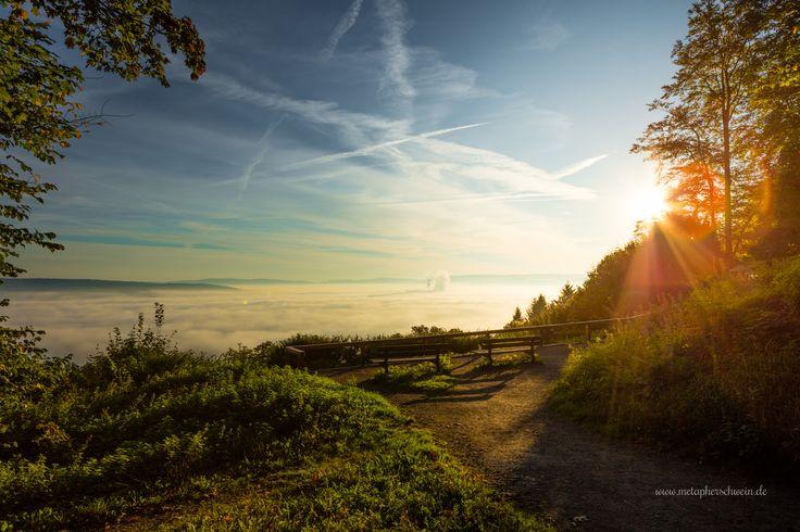 Der #Klüt in #Hameln am 2.Oktober 2015.  #Weserbergland #Nebel #Herbst  Gesehen von www.metapherschwein.de