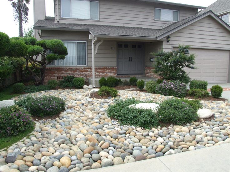 17 best ideas about pebble garden on pinterest for Smooth stones for landscaping