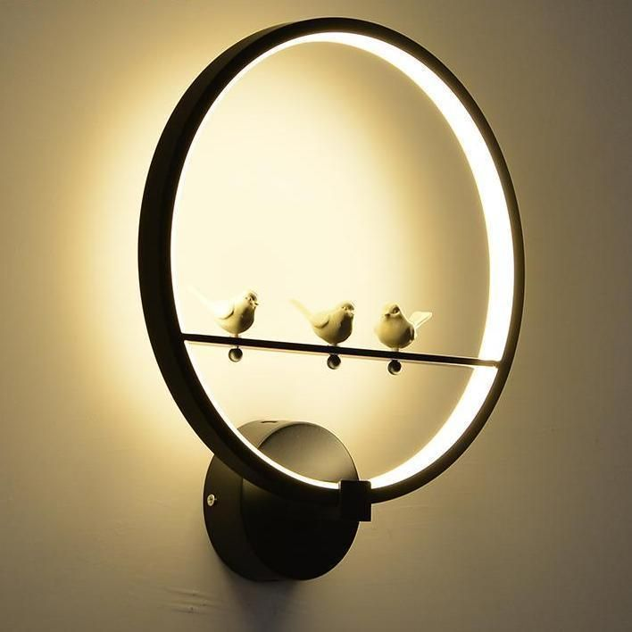 Noti Home Birdie Wall Light Ring In 2020 Led Wall Lamp Wall Lamp Wall Lamps Diy