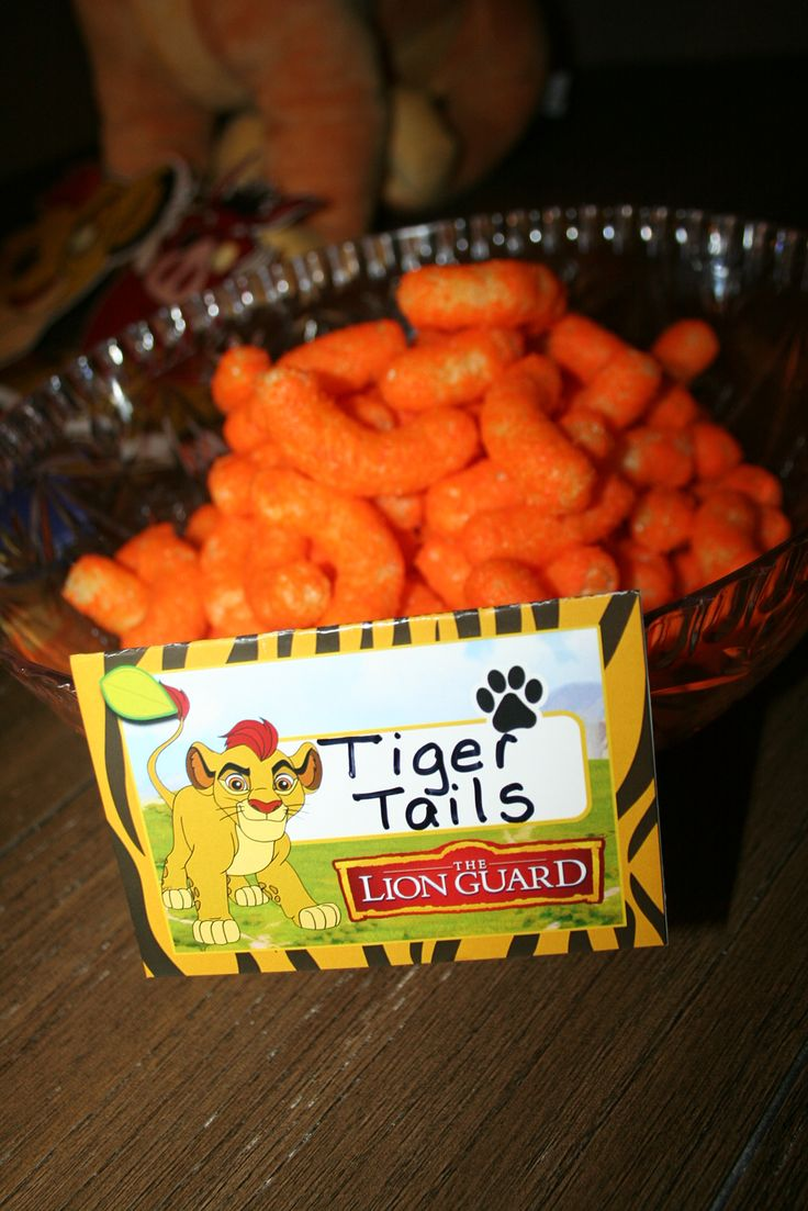The Lion Guard Birthday's Decoration  Tiger Tails