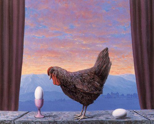 Réne Magritte - Variante de la Tristesse, 1945