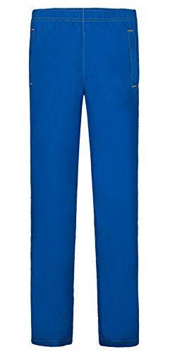HengJia Mens Summer UPF Wicking Ultra Lightweight Outdoor Sports Running Pant Sapphire Blue L