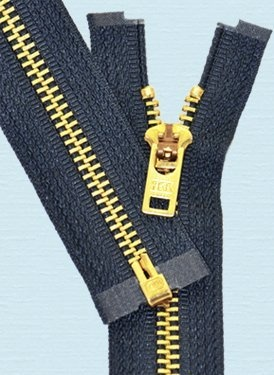 "Sale 8"" Brass Zipper - YKK #5 Brass Zipper Separating with Locking Pull - 560 Navy (1 Zipper/pack) by YKK #5 Brass Zipper Separating, http://www.amazon.com/dp/B007KKXQTU/ref=cm_sw_r_pi_dp_srB6pb0E7M7D1"