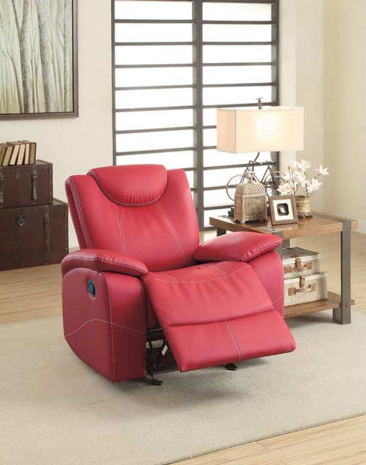 Homelegance - Talbot Glider Reclining Chair - 8524RD-1