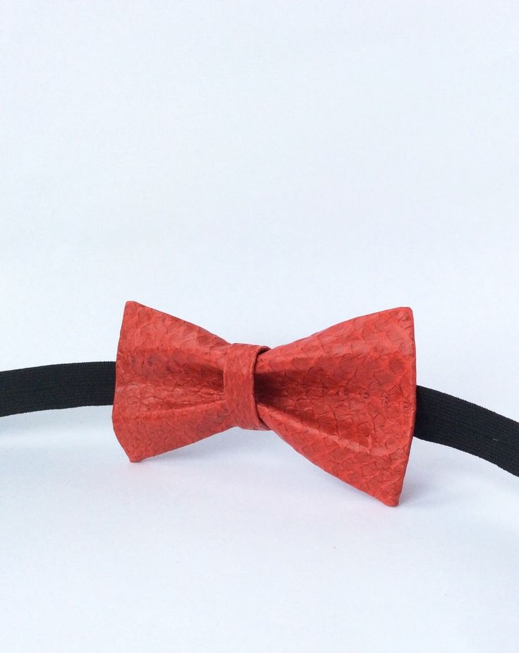 26 best fish leather bow ties luxury accessories images on for Fish bow tie