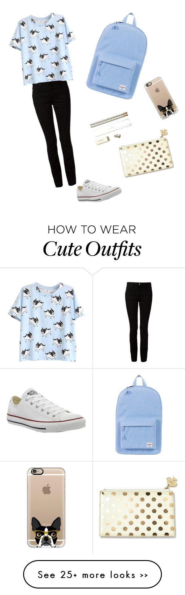 """""""Back to school outfit"""" by hellopeeps808 on Polyvore"""