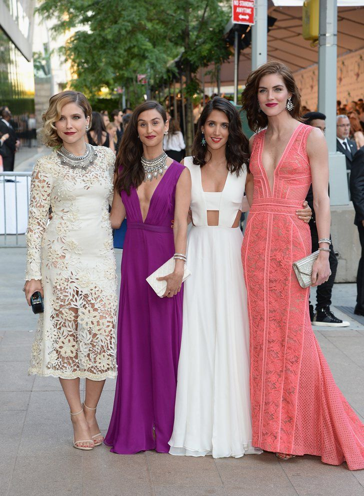 Pin for Later: The Hottest Date Last Night Was a Fashion Designer Sophia Bush and Hilary Rhoda with Jodie Snyder Morel and Danielle Snyder The actress and the model provided stylish dates for the Dannijo designers.