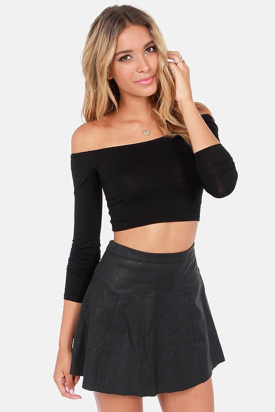 SALES ITEM - Item Type: Top - Style: Crop Top - Material: Polyester Decorations: None