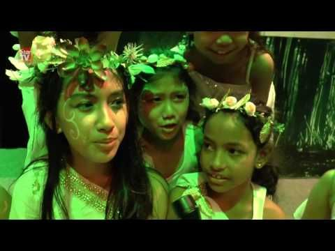 Kids learn about endangered animals through acting - YouTube