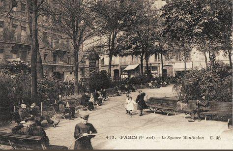 square de Montholon - Paris 9ème