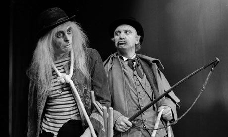 rope images in waiting for godot Beckett's work in general and waiting for godot in particular—are in a mutually   sunk into nothingness, and all explanations turn to images covering up the   sequences of hat-changings and boot-wearings, where stage directions may .