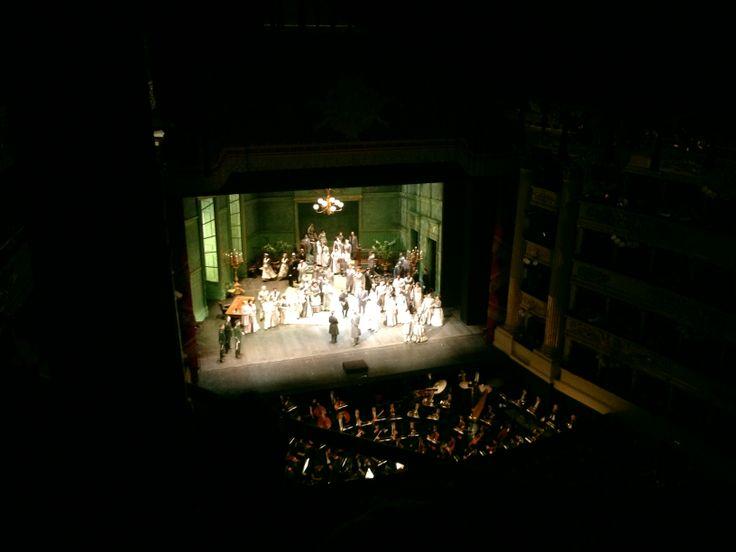 @Teatro alla Scala alla Scala  #Milano, Lucia di Lammermoor - Celebrazione delle nozze tra Lucia e Arturo