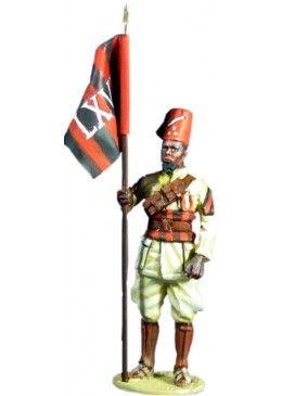 WW 082 JUSBASCI 66 TH ERITREAN COLONIAL BN, ITALIAN ARMY