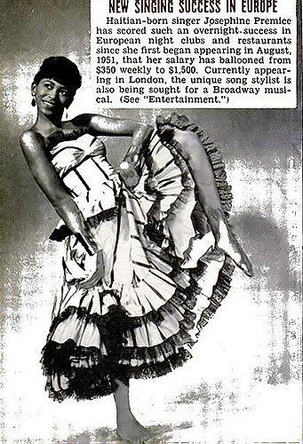 Josephine Premice, New Singing Success in Europe - Jet Mag… | Flickr