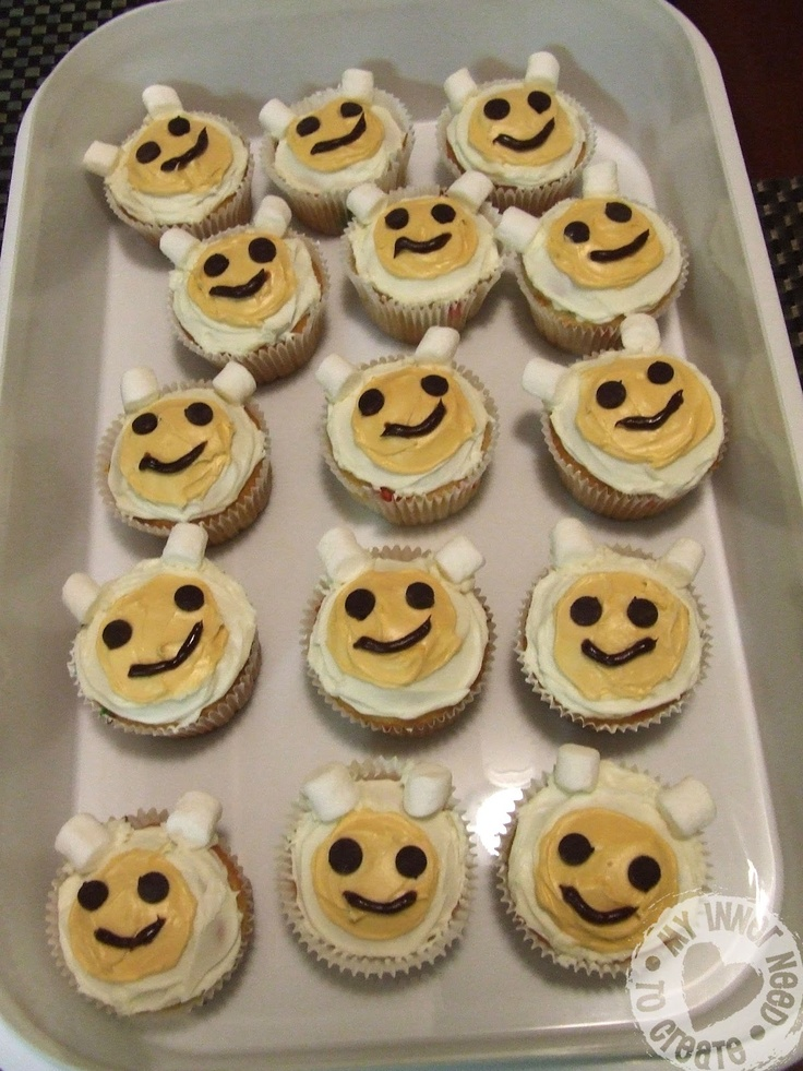 how to make birthday cupcakes at home
