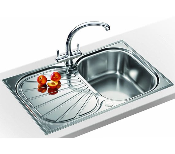 Franke Erica Propack EUX 611 78 Stainless Steel Sink And Tap