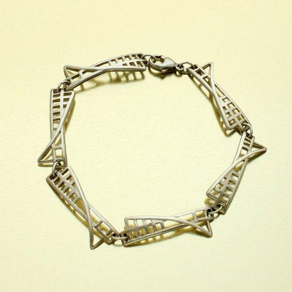 Vintage Mackintosh Bracelet Charles Rennie Mackintosh by mybooms, $43.00