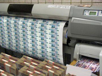 Советник Путина предложил запустить печатный станок