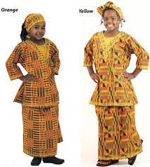 Traditional Children's African Clothing 5