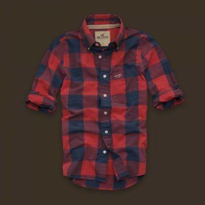 camisas hollister masculinas xadrez