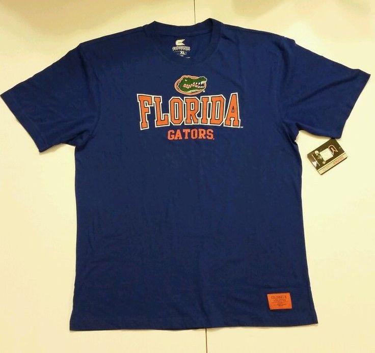 NCAA Univeristy of Florida Gators XL Tshirt Blue Orange Fans Alumni NWT SEC #ColosseumAthletics #FloridaGators