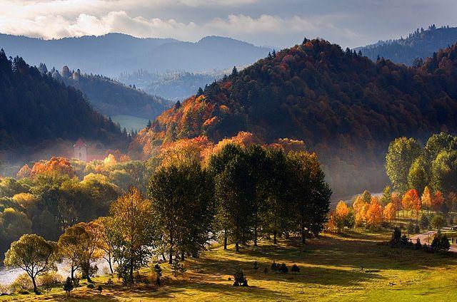 Pieniny jesienią