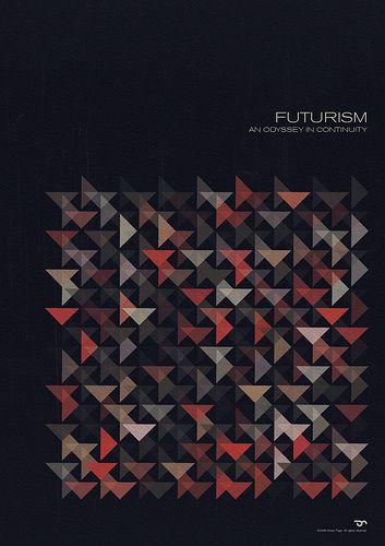 Futurism - Simon C. Page / Simon Page / Simon C Page / Page / SC Page / S.C. Page / simoncpage / simonpage - poster - graphic design