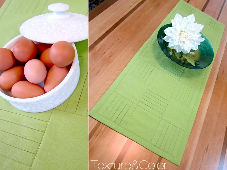 Pleated & Pressed Linen Table Runner | Sew4Home