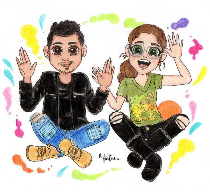 yyyyyyy… #QueSePareElMundo porque me encantó la segunda parte del vídeo de @KarolSevillaofc  con su hermano Mau!  #TagDelHermanoKS  te quiero mucho mucho Karol!  Etiqueta a #KarolSevilla, me encantaría que ella viese este dibujo! ...