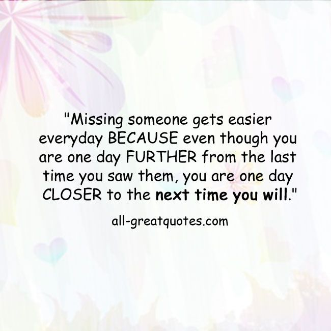 1000+ Missing Someone Quotes On Pinterest
